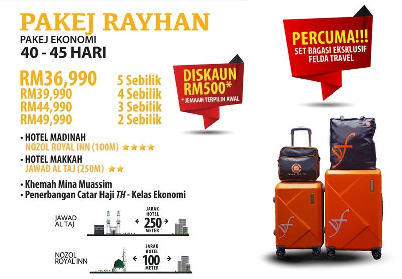 Pakej Haji Ekonomi 2020