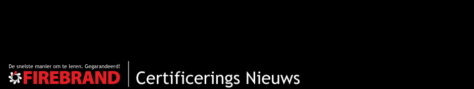 Certificering Nieuws | Firebrand Training Nederlands
