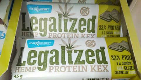 Wafel proteinowy, MaxSport
