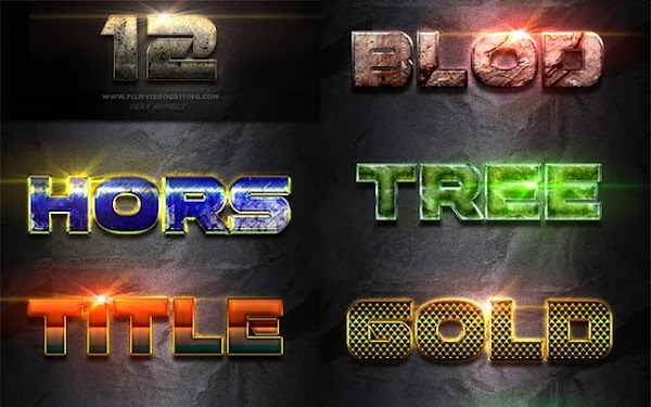 Photoshop Text Effect Cinematic 3d Actions Free Download