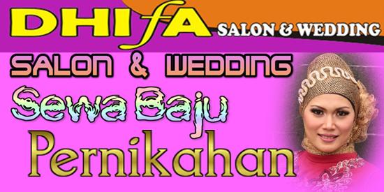 Dhifa Salon Menyewakan Baju Pengantin Dhifa Salon