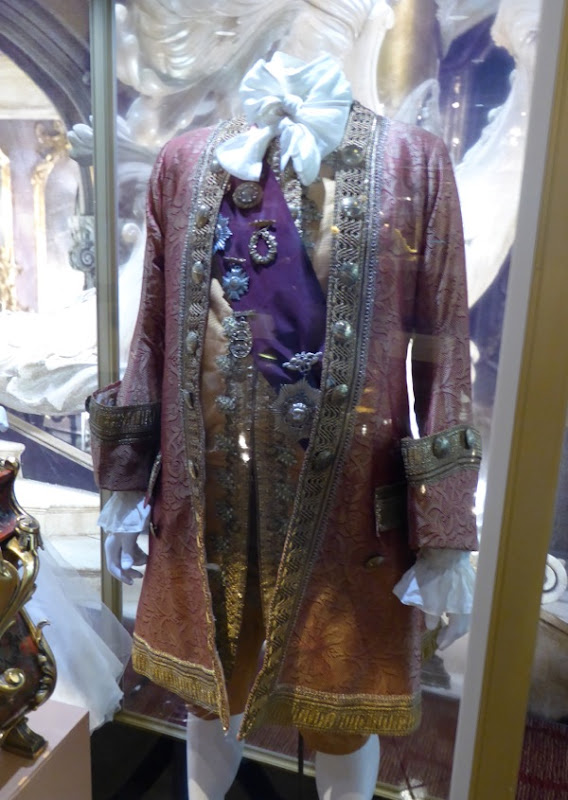 Beauty and Beast Cogsworth movie costume