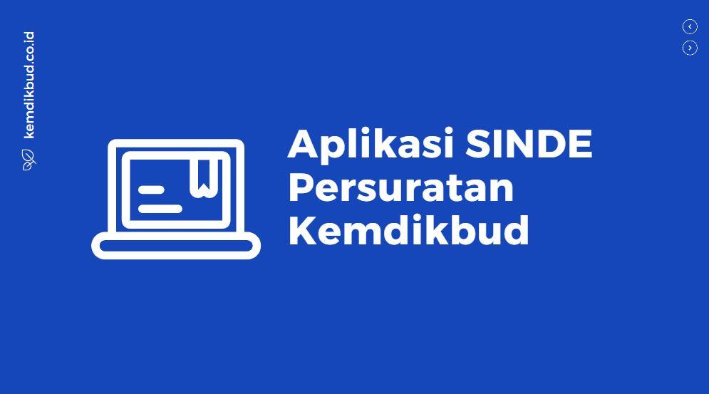 tutorial aplikasi persuratan sinde kemdikbud