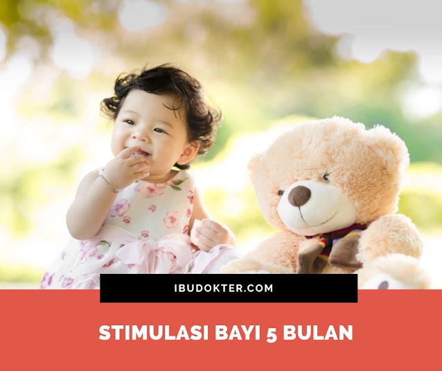 Stimulasi Bayi 5 Bulan
