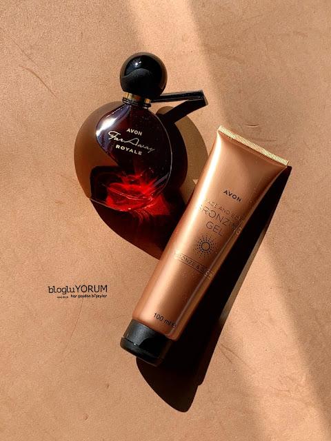 Avon Far Away Royale EDP Kadın Parfüm  Avon Bronze & Glow Yüz ve Vücut için Bronzlaştırıcı Jel