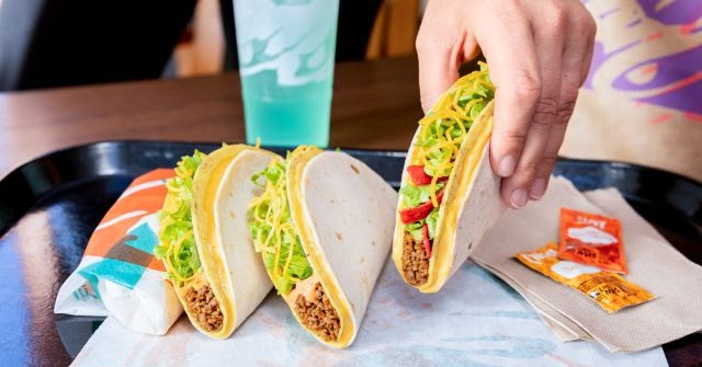Taco Bell Tests the Return of $1 Double Stacked Tacos ...