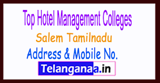Top Hotel Management Colleges in Salem Tamilnadu