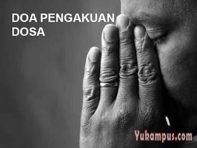doa pengakuan dosa