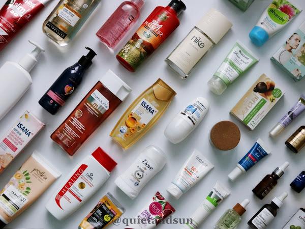 Inwentaryzacja kosmetyków, czyli moja CAŁA pielęgnacja (2021)