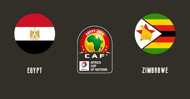 موعد مباراة مصر وزيمبابوي هل سيشارك محمد صلاح  في بطولة كأس الامم الافريقية