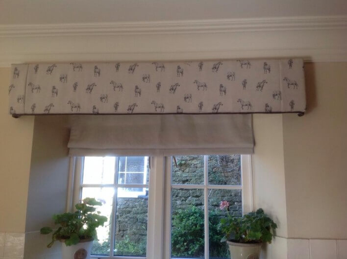 Kitchen Blinds with Pelmet Hard ! Home Decor
