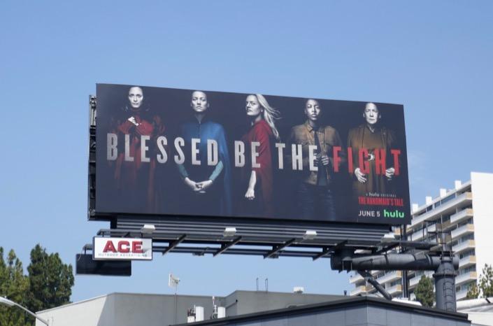 Handmaids Tale season 3 Hulu billboard