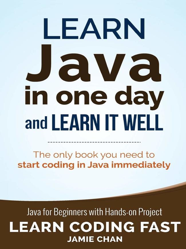 learn java in one day and learn it well pdf github