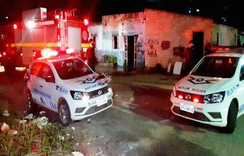 Bombeiros são chamados após residência pegar fogo em Porto Velho