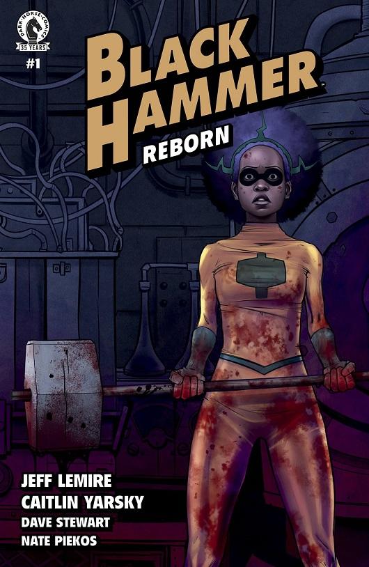 Cover of Black Hammer Reborn #1