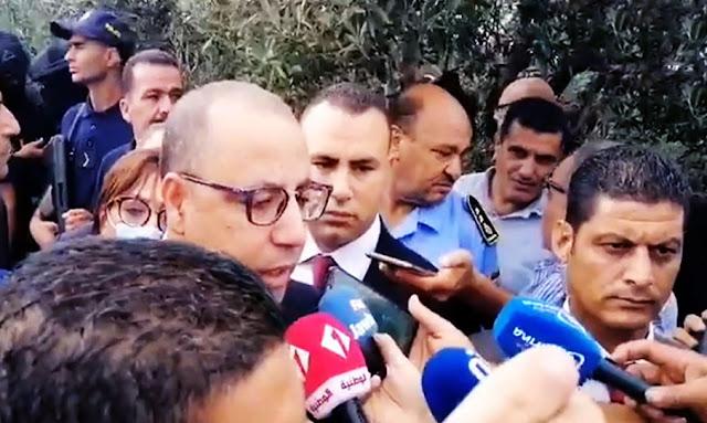 Tunisie: Le chef du gouvernement Hichem Mechichi arrive à Sousse