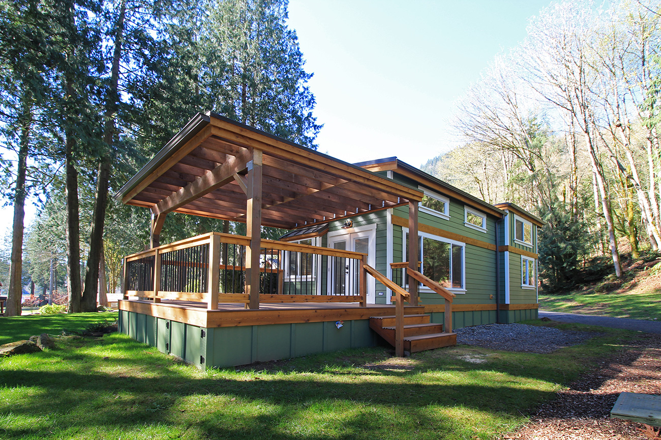 The Whidbey Cottage 400 Sq Ft TINY HOUSE TOWN