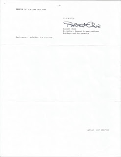 USA IRS Tax Determination Letter page two