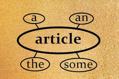 Jenis-Jenis Articles Bahasa Inggris