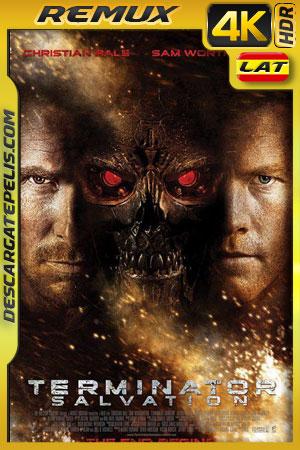 Terminator: la salvación (2009) 4K BDRemux HDR Latino – Ingles