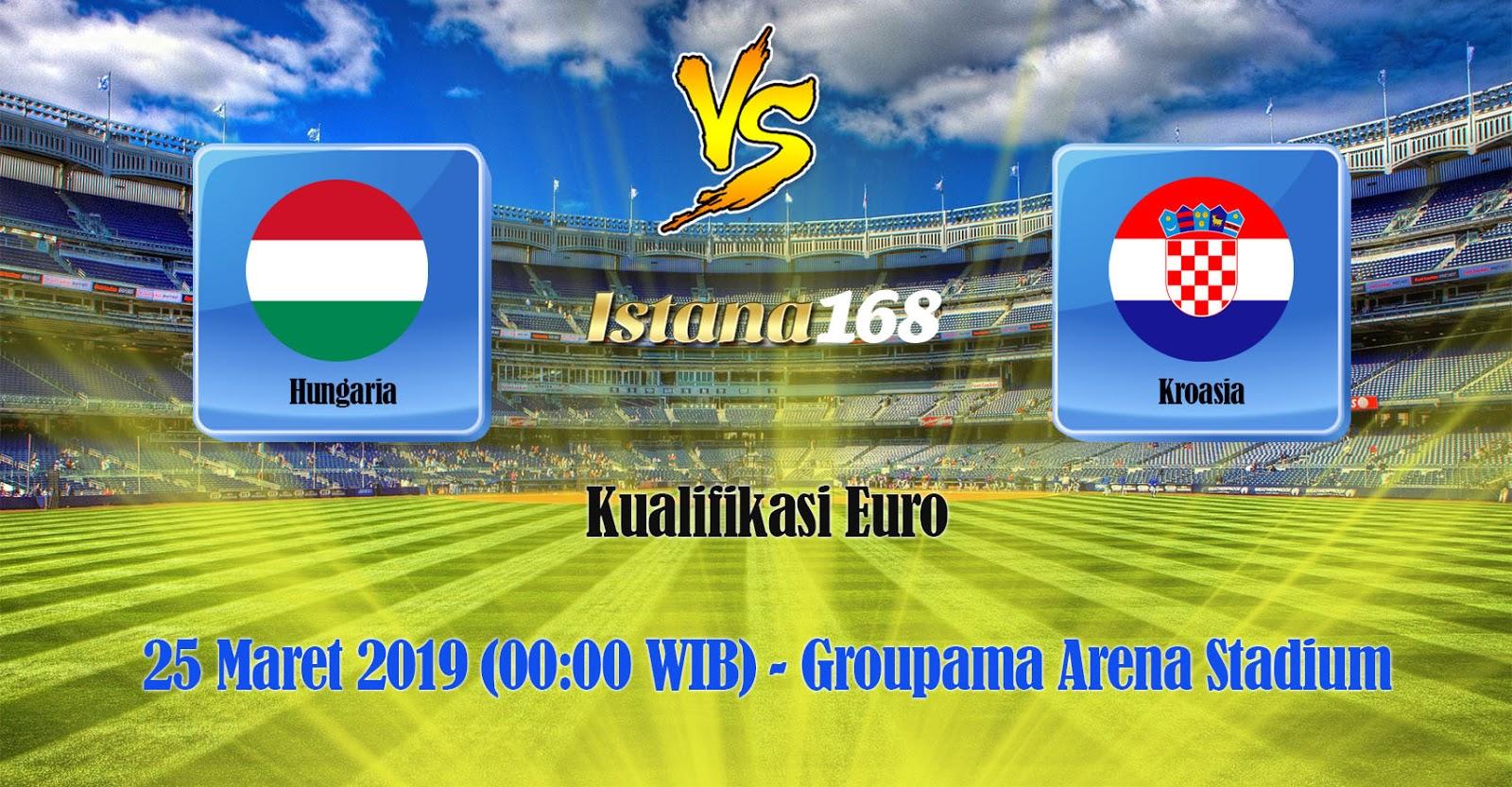 Prediksi Pertandingan Bola Hungaria vs Kroasia 25 Maret