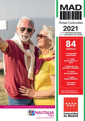 Oferta con 445 destinos para viajar: Rutas Culturales 2021-22 para Mayores de la Comunidad de Madrid