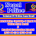 Technical PC of Nepal Police Written Exam Result