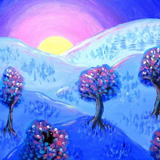 landscape painting merch