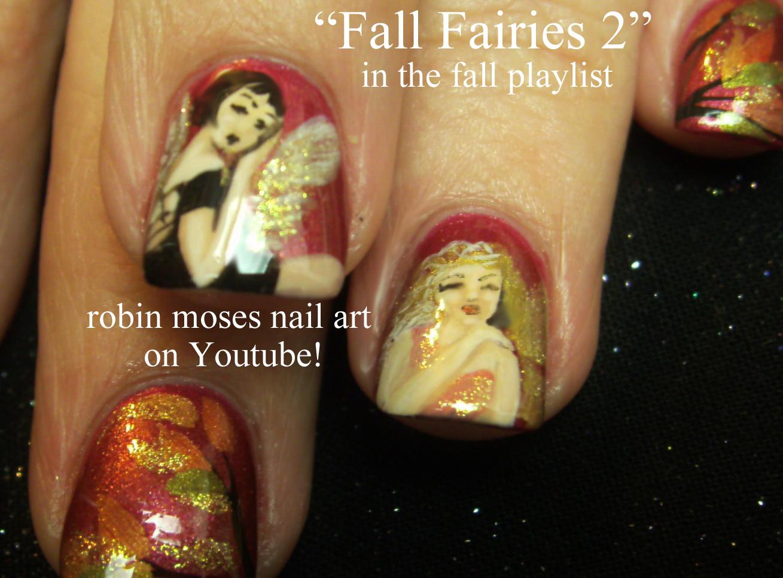 Nail Art By Robin Moses Fall Fashionistas Fall Nail Design