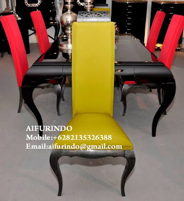 "French DINING TABLE Furniture Indonesia,Classic BLACK painted DINING TABLE furniture Jepara code A306""Classic French DINING TABLE Furniture"" Aifurindo ""sell Classic DINING TABLE Furniture""and  ""Antique DINING TABLE reproduction Mahogany"""