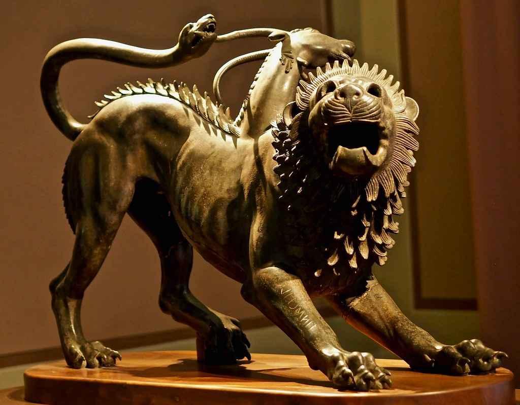 Quimera: Um Monstro Com Cabeça de Leão
