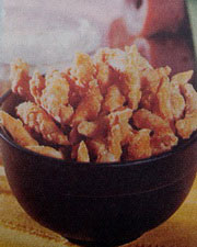 Kue Telur Gabus Kacang