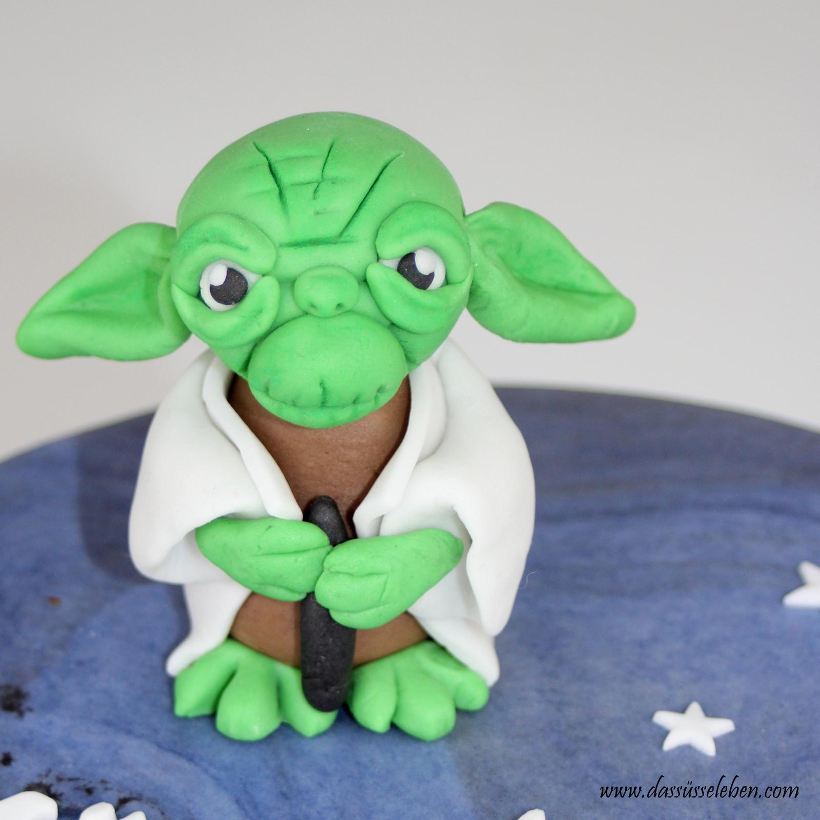 Rezept Star Wars Torte Mit Yoda Das Susse Leben