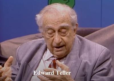 हाइड्रोजन बम का आविष्कार किसने किया था, Edward Teller