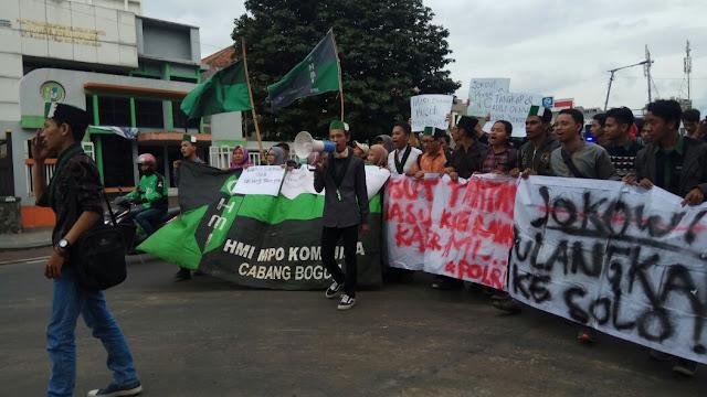 HMI-MPO Bogor Kecam Kekerasan Terhadap Mahasiswa