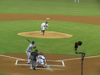 First pitch, Metropolitans vs. Marlins