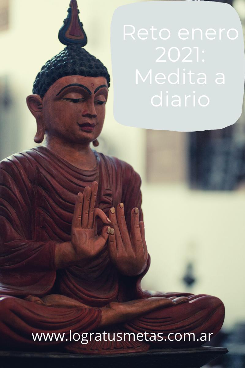 Reto enero 2021: Comienza a meditar a diario