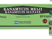 Kanamycin Sulfate - Kegunaan, Dosis, Efek Samping