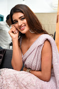 Nidhi Agarwal at Ismart Successmeet-thumbnail-12