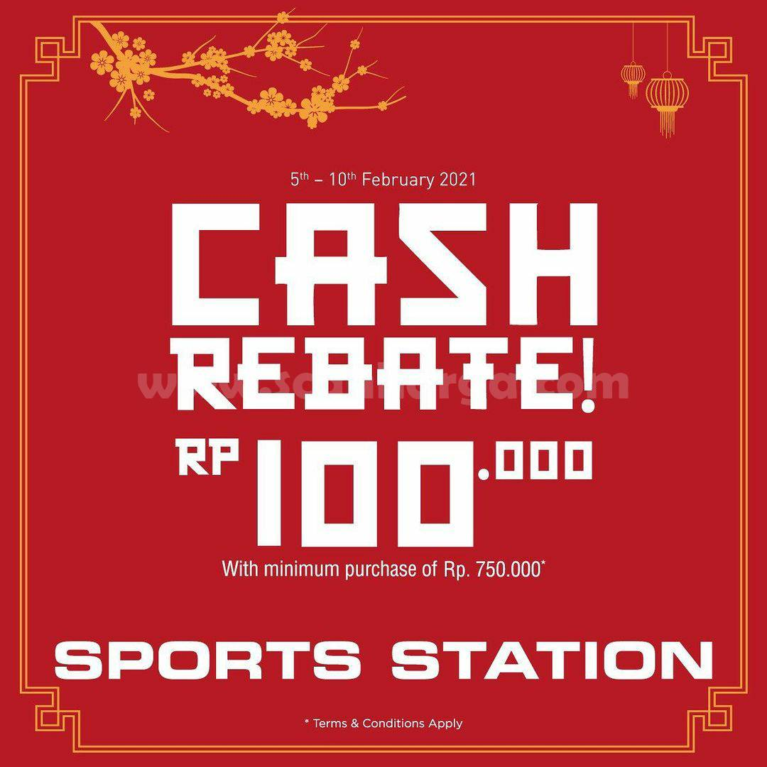 Sport Station Weekend Special Promo Cash Rebate 100K