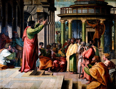 [[File:V&A - Raphael, St Paul Preaching in Athens (1515).jpg|V&A - Raphael, St Paul Preaching in Athens (1515)]]