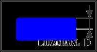 Halfwidth - Polyline AutoCAD