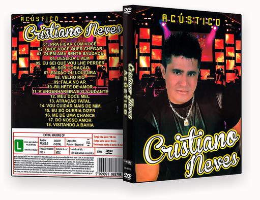 CAPA DVD – Cristiano Neves Acustico DVD-R