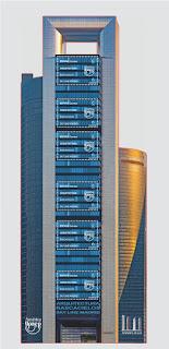 Skyline Madrid. Arquitectura/Rascacielos (América UPAEP)