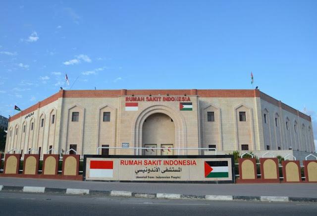 RS Indonesia di Gaza Rusak Dampak Serangan Militer Israel