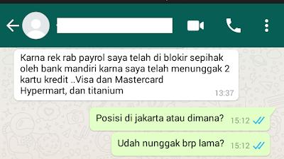 Blokir Sepihak Bank Mandiri (46) Saldo Payrol Jadi 0 Rupiah