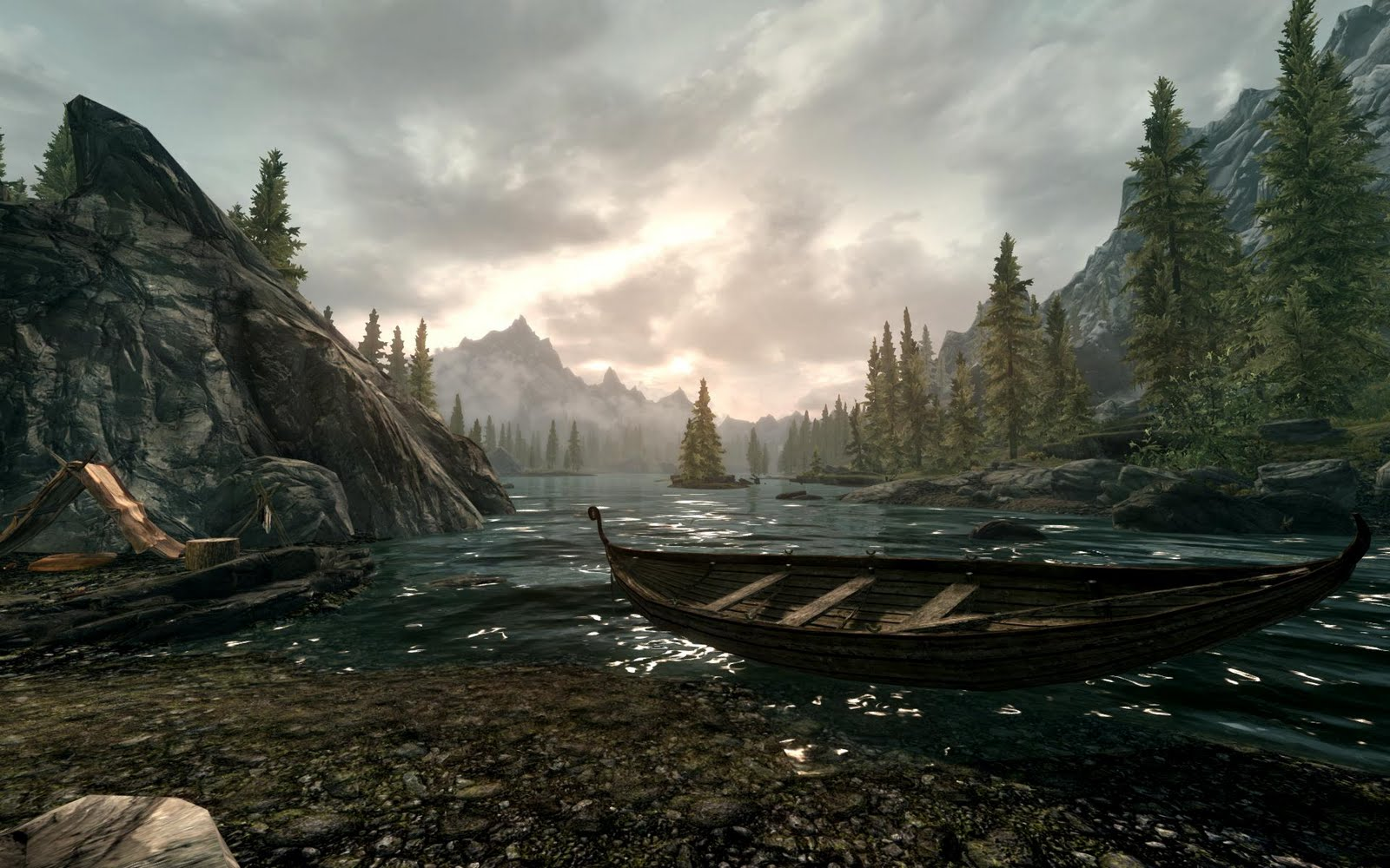 Sky Hd Wallpaper Amazing Skyrim Screenshot Gamingreality