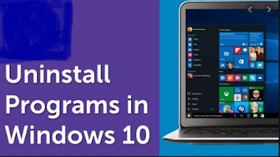 Cara uninstall aplikasi dilaptop Windows 10