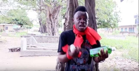 Musician Invokes Curses on Politicians with Crate of Eggs, Schnapps at a Cemetery (Watch Video)