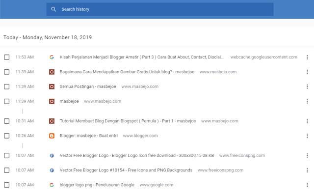 Cara Paling Mudah Mengembalikan Postingan Blog Yang Terhapus Tidak Sengaja